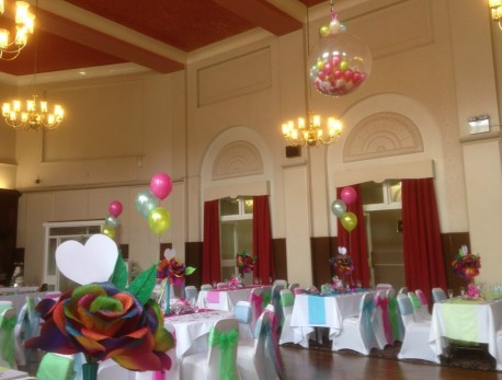 Wedding Day Balloons