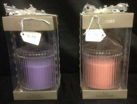 Rose or Lavender Candle