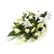 White Presentation Bouquet