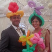 Wedding Balloon Modelling