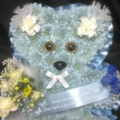Blue Teddy Bear